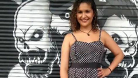 Camila Mira a produtora responsável pelo Portal do Rock RJ