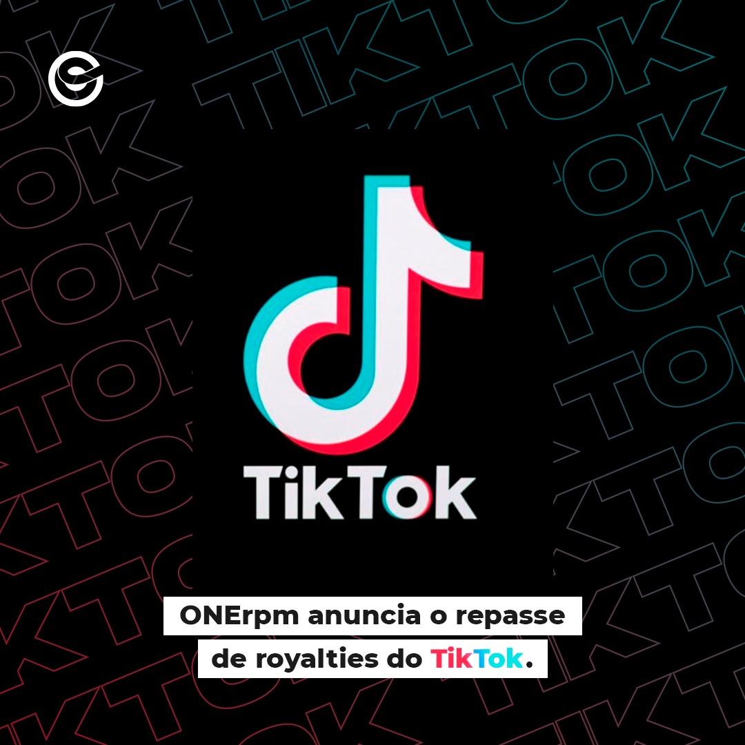 ONErpm faz repasse de royalties do TikTok