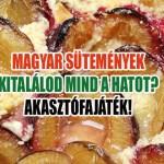 magyar sütemények