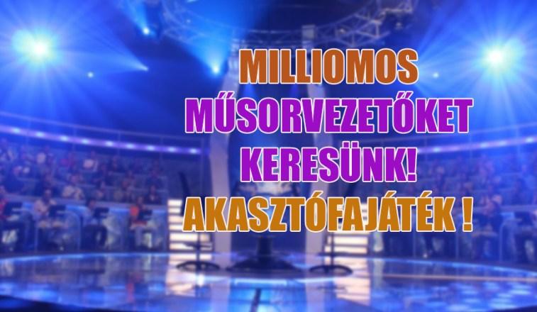 milliomos műsorvezetők