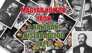 magyar költők, írók