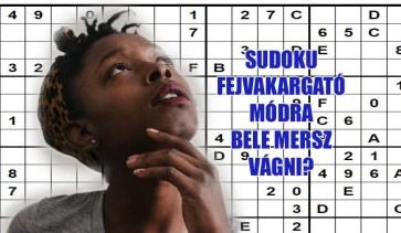 sudoku fejvakaró
