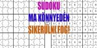 sudoku rejtvény