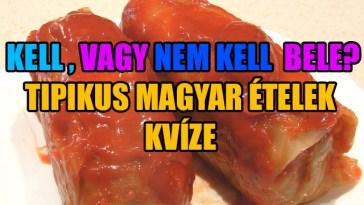 tipikus magyar ételek