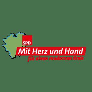 """Logo SPD """"mit Herz und Hand"""""""