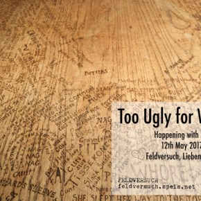 May12: Too Ugly for Words