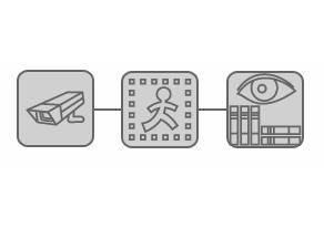 El software Xeoma CCTV tiene una interfaz visual contemporánea