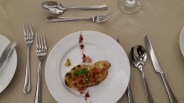 Menu appatizer (Bruschetta Romana)