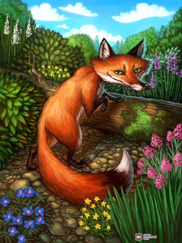 Fox for Ravenous River ©AEG, Digital