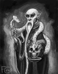 Salazar Slytherin Sketch, Digital
