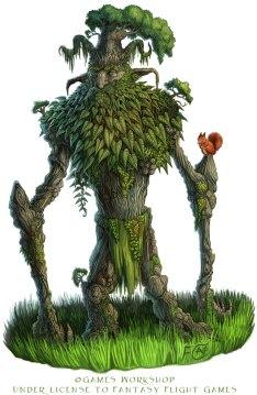 Ancient Oak for Talisman ©Games Workshop , Digital