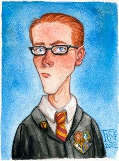 Percy Weasley, Watercolor