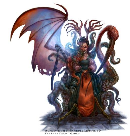 Mutant for Talisman ©Games Workshop, Digital