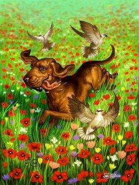Dog for Ravenous River ©AEG, Digital