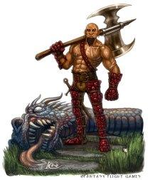 Dragon Hunter for Talisman ©Games Workshop, Digital