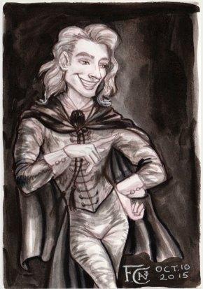 Gilderoy Lockhart for Inktober