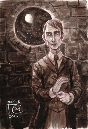 Professor Lupin for Inktober