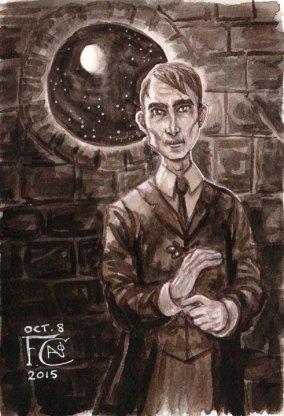 Professor Lupin for Inktober