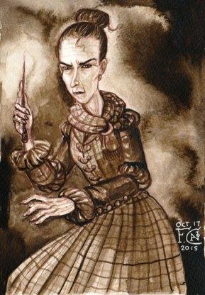 Professor McGonagall for Inktober