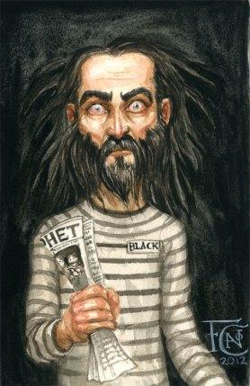 Sirius Black, watercolor