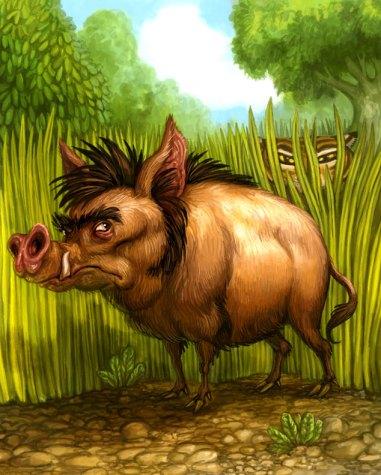 Wild Pig for Tiger Stripes ©Game Salute, Digital