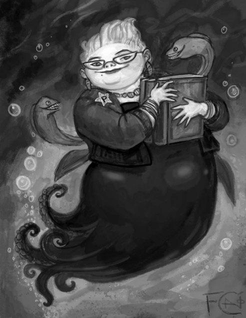 Ursula Sketch, Digital