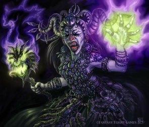 Wrathborn Witch for Talisman ©Games Workshop, Digital