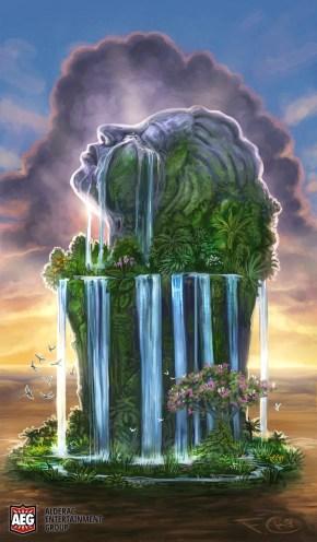Gaia's Tears for Mystic Vale ©AEG, Digital