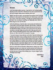 Julie Kagawa - Ash's Letter to Megan