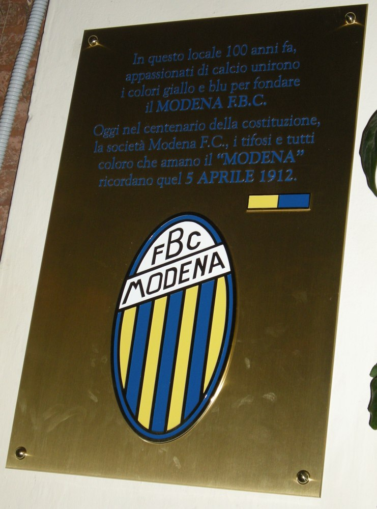 100 years Modena Football Club - 100 anni Modena F.C. - 100 Jahre Modena F.C. - I was there!!! (2/2)