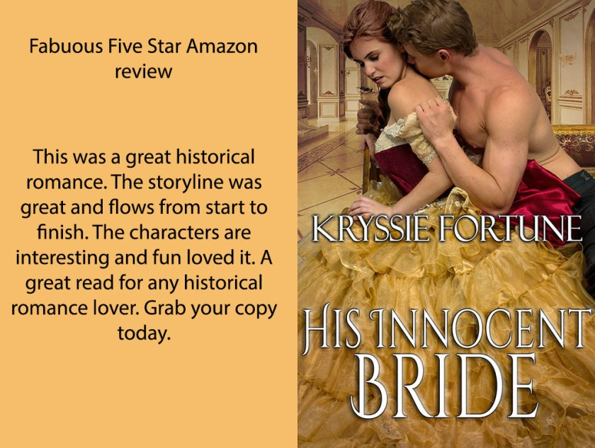 His Innocent Bride - KF Review Promo