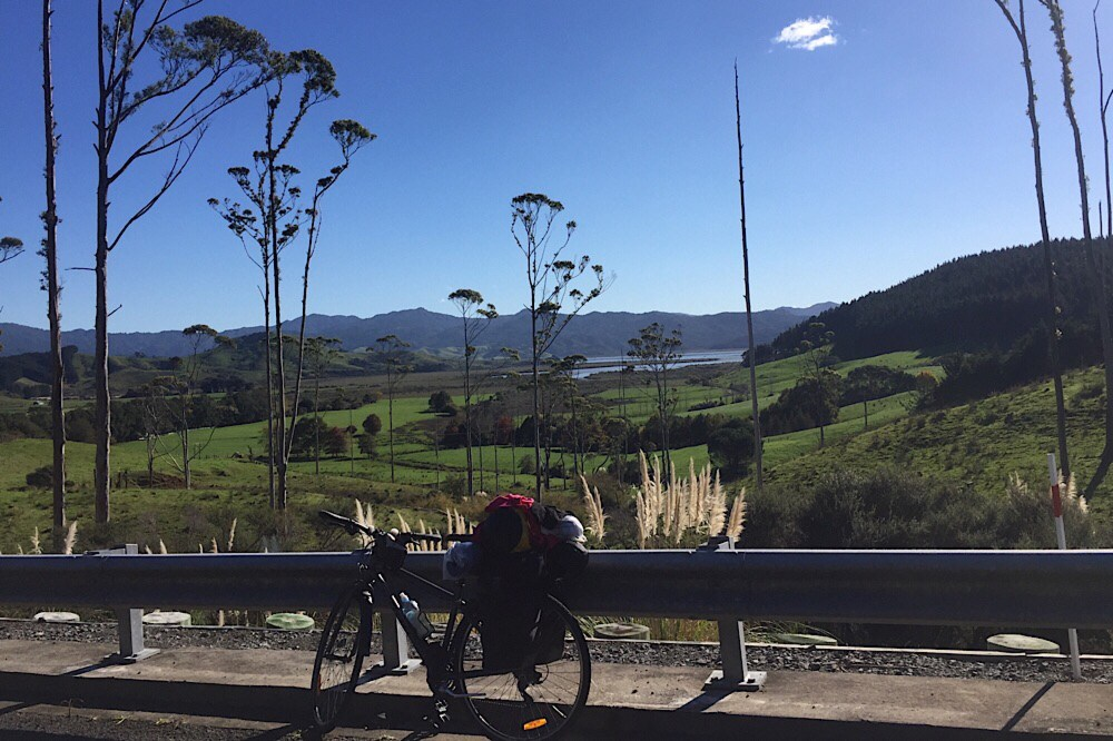Cycling the coromandel