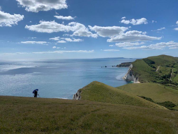 Hiking jurassic coast