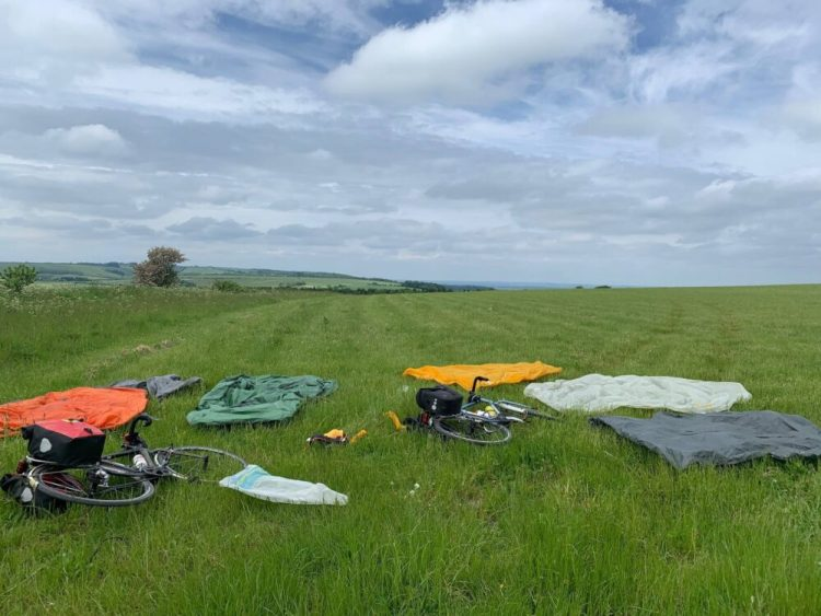 Wild camping Ridgeway