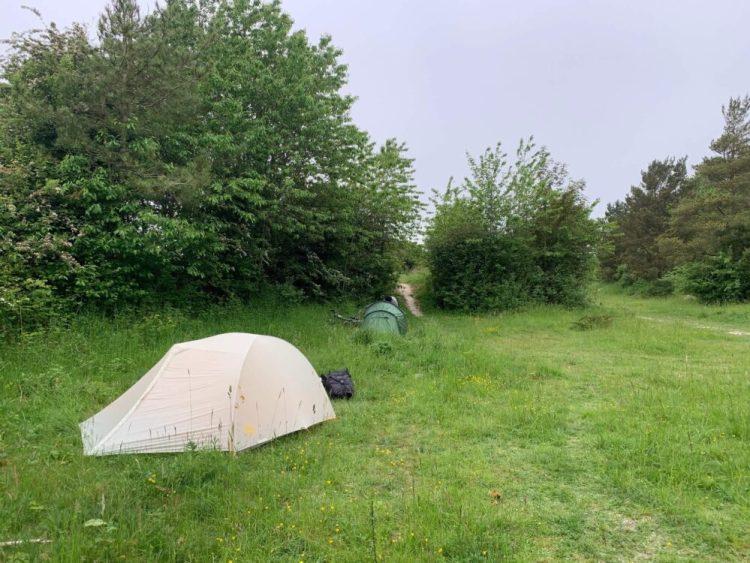 Wild camping sailsbury