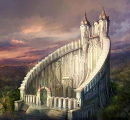 Замок в стиле фэнтези-1