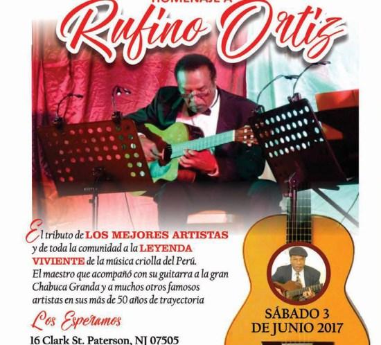 Felipe Alberto - Homenaje a Rufino Ortiz