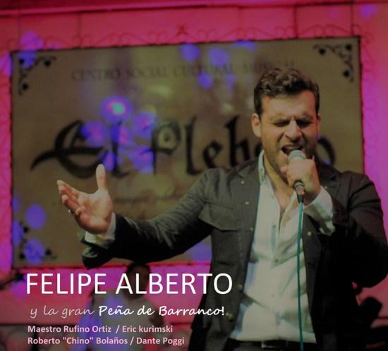 Día de la Canción Criolla in Connecticut - Felipe Alberto