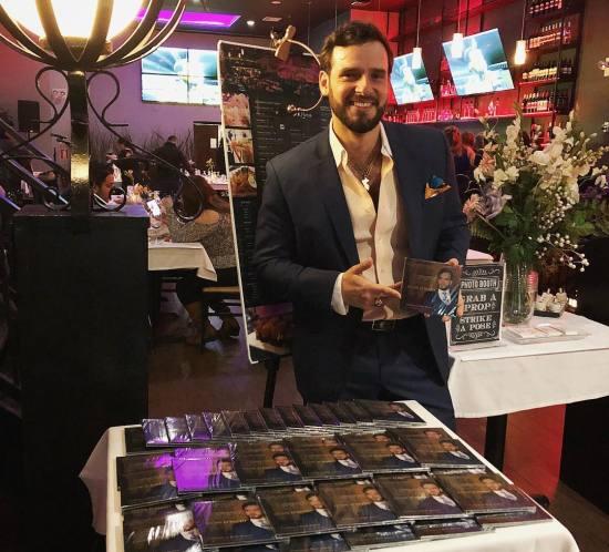 Felipe Alberto at Nuestro Secreto Album Launch 2018
