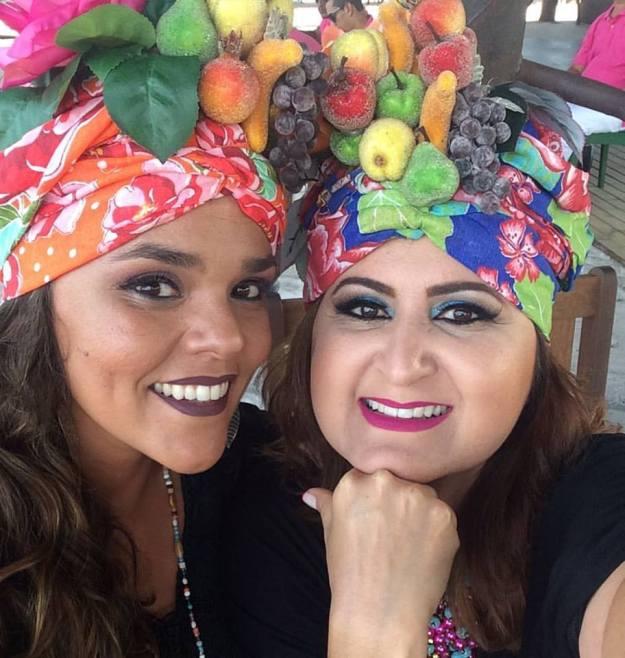 Fernanda Guimarães e Wilma Araújo
