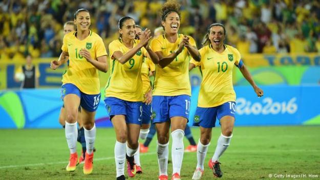 time feminino brasil