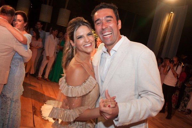 Bruna Bentes e Maurinho Vasconcelos