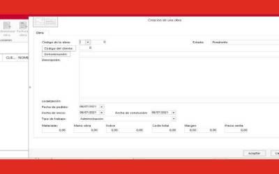 Control de costes de obras con Factusol