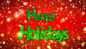 Boas Festas - Happy Holidays