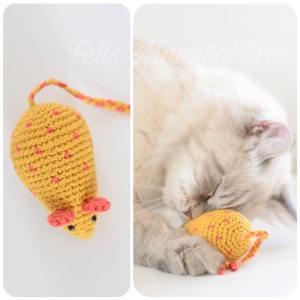 eko zabawka dla kota