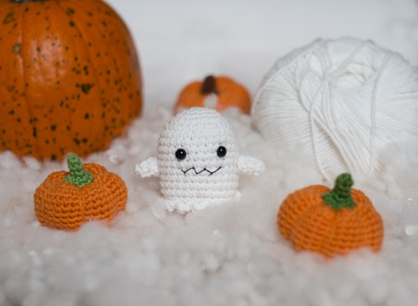 zabawki dla kota halloween duch