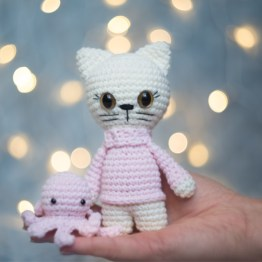 Maskotka kot ręcznie robiona w Polsce
