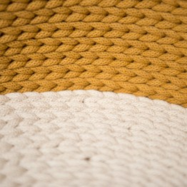 Legowisko ze sznura bawełnianego
