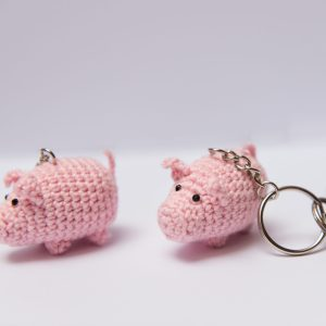brelok świnka