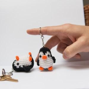 brelok do kluczy pingwin